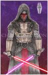 Star Wars Darth Revan KOTOR Art
