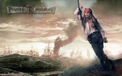 Pirates des Caraibes wall 2 by Yamakara