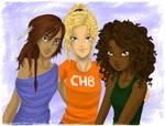 Heroes of Olympus - The Girls