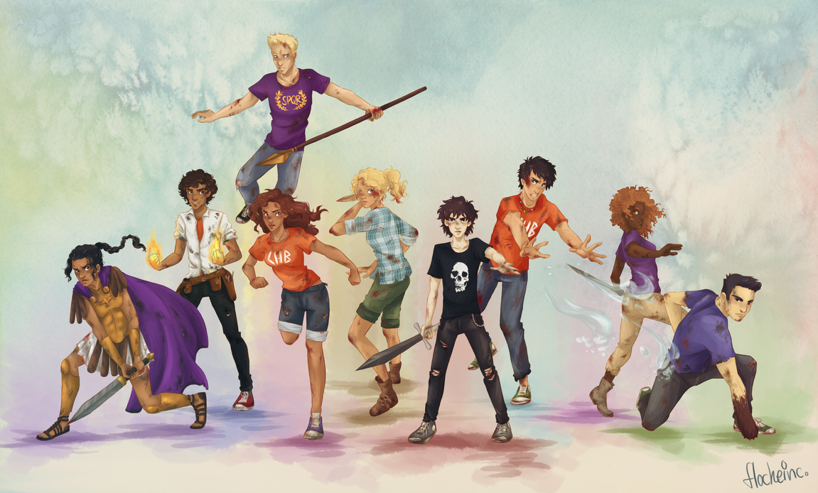 Image result for heroes of olympus squad