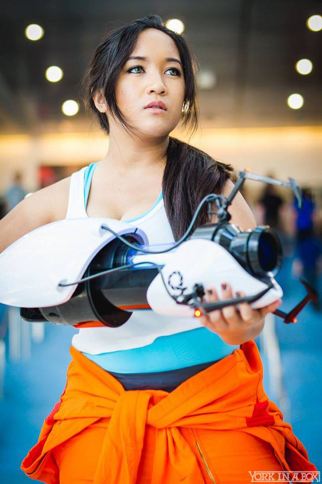 Portal 2 Cosplay Chell By Annjelife On Deviantart