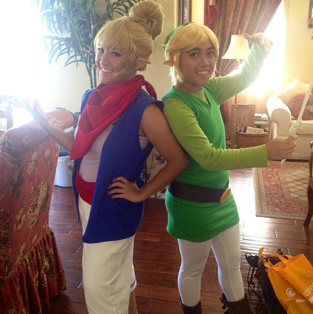 Wind Waker Cosplay - Link + Tetra by eloquium