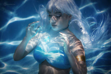 Life Crystal - Atlantis Kida Cosplay