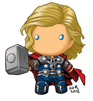 chibidoll thor by kevinraganit on deviantart boy and girl student clipart Teacher Clip Art