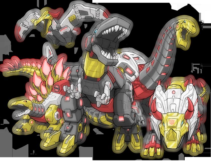 Dinobots Roar by KevinRaganit