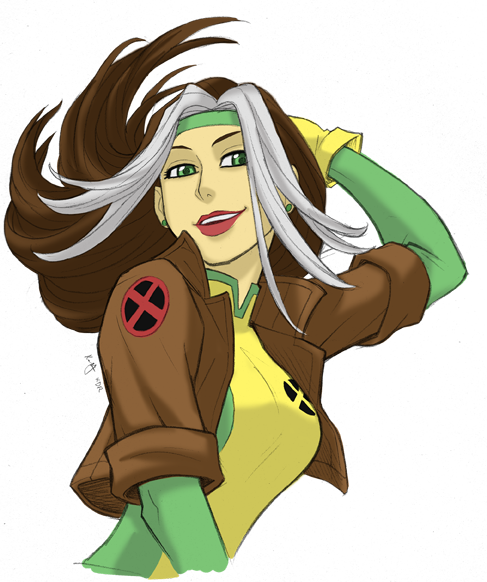 Rogue Bust By KevinRaganit On DeviantArt