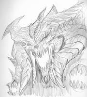 Diablo sketch by KevinRaganit