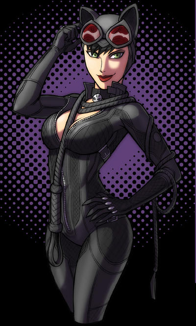 Catwoman Arkham City by KevinRaganit