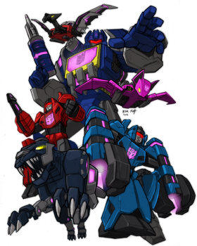 FoC Soundwave and his minions