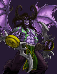 World of Warcraft Tribute Illidan Stormrage
