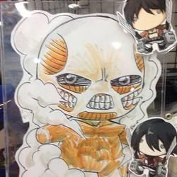 Colossal Titan chibi doll by KevinRaganit