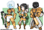 Destiny Ironbanner Chars