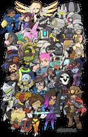 Overwatch Heroes Groupshot