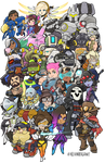 Overwatch Heroes Groupshot