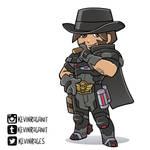 Blackwatch McCree Overwatch Insurrection
