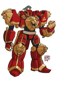 New Monarchy Titan Megazord Voltron Mash