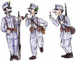 Early war Austria Hungary Infantry