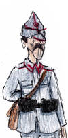 WW1 Romanian Soldier