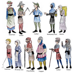 13th century York Miners