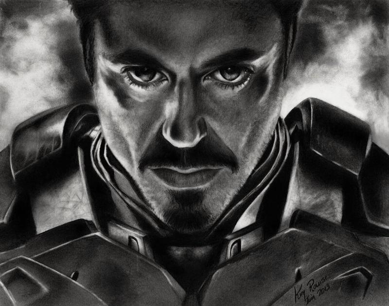 Iron Man by Kim1486