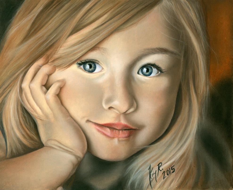 Child Portrait by Kim1486