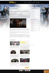 Esomalls the elder scrolls online game page desgin