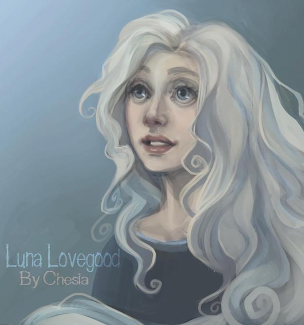 Luna Lovegood by MeryChess