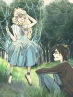 Harry and Luna. Summer by MeryChess