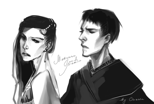Merlin and Morgana by MeryChess