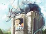 Princess and her dragon