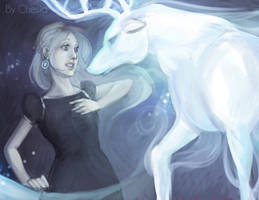 Luna and his patronus... by MeryChess