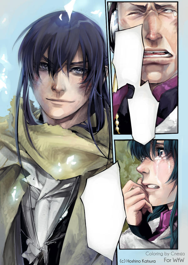 DGM manga coloring 207 chapter by MeryChess