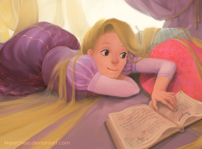 Rapunzel by MeryChess