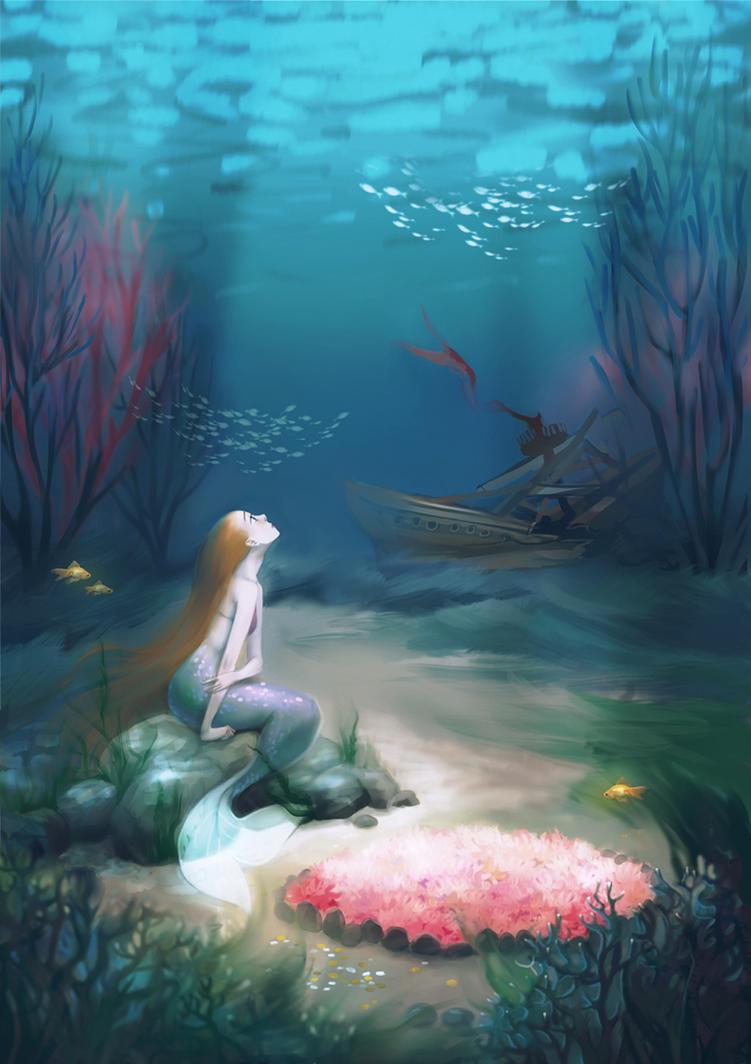 Little mermaid by MeryChess on DeviantArt