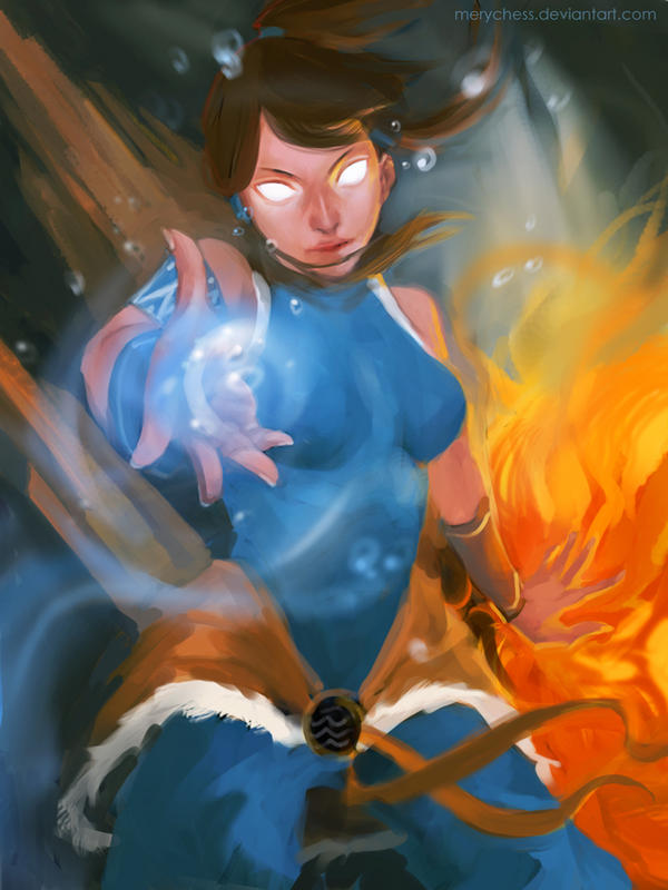 Avatar Korra by MeryChess