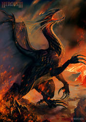 Heroes III of might and magic black dragon by MeryChess