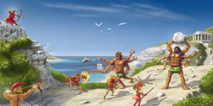 Gegenees - Greek Myths 1 of 10