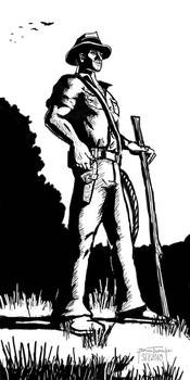 Dr. Henry Walton Jones (noir style)