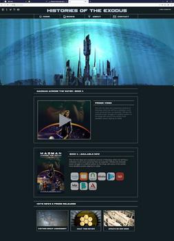 Histories of the Exodus - Website Design