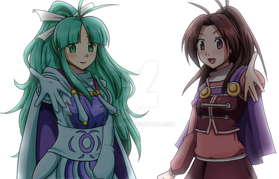 GS - Mia and Jenna by Velkia