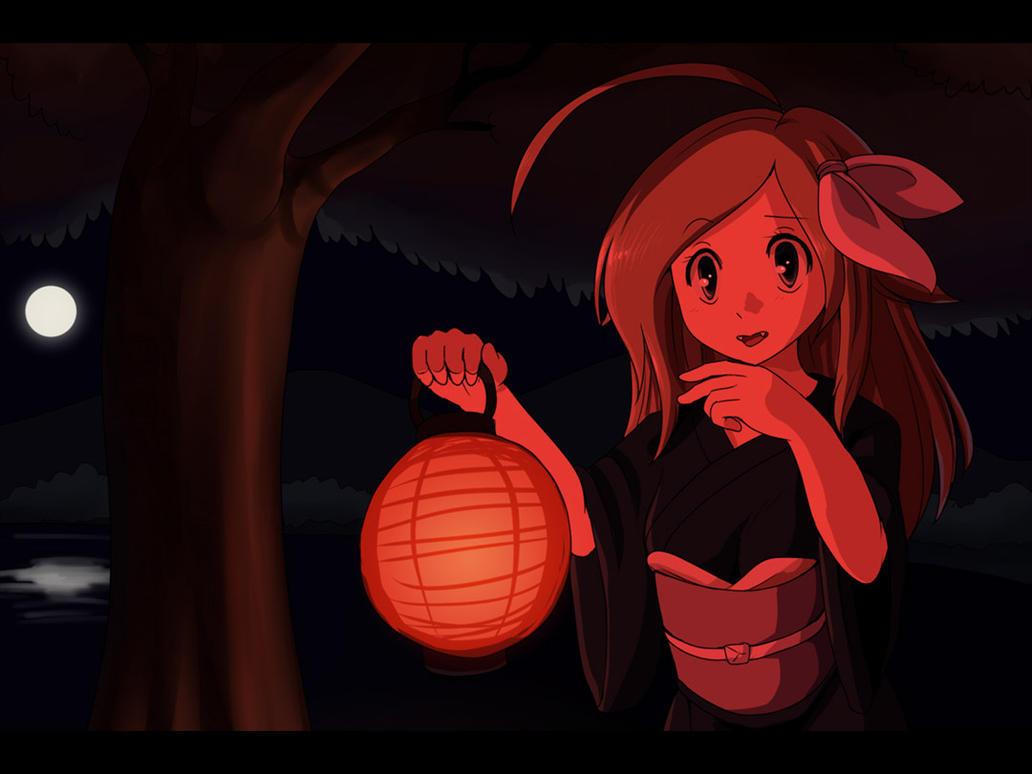 OC - Scarlet Lunar Love by Velkia