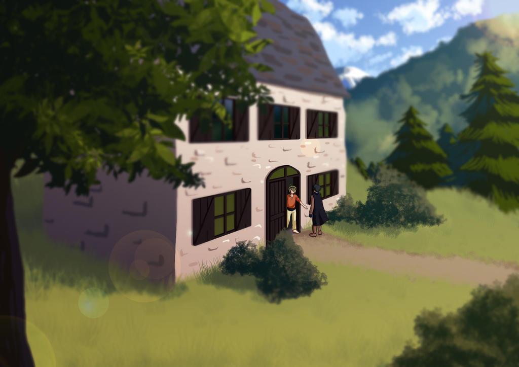 OC - Home by Velkia