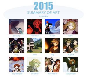 2015 Summary Of Art by Velkia
