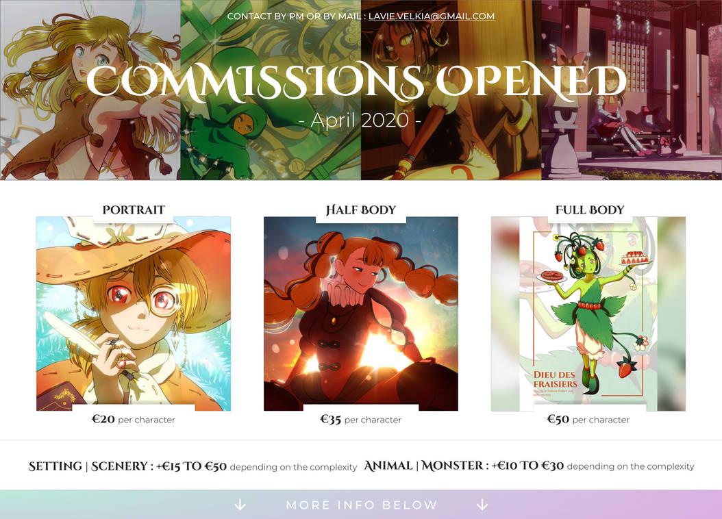 Commissions - April 2020