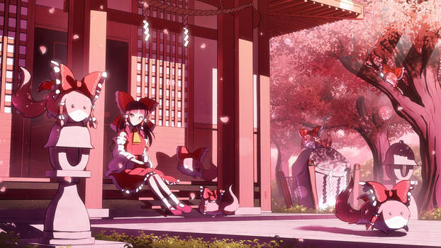 Touhou - Reimu and the Sukusuku