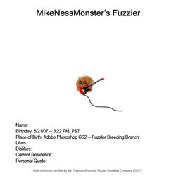 MikenessMonster's Fuzzler by ExplosionAnomaly
