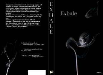 Concept Book Cover - Exhale by ExplosionAnomaly