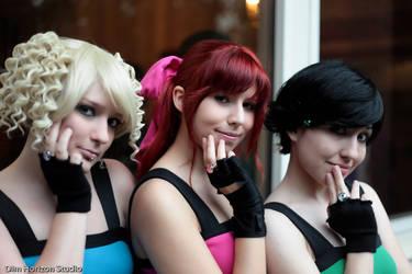 Girls of Townsville by 108thStar-Kya