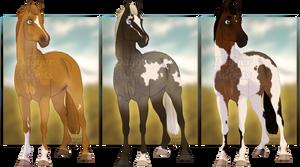 Horse Adopts - 1/3 OPEN - OTA points
