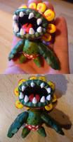 Petey Piranha Figurine by Jelle-C